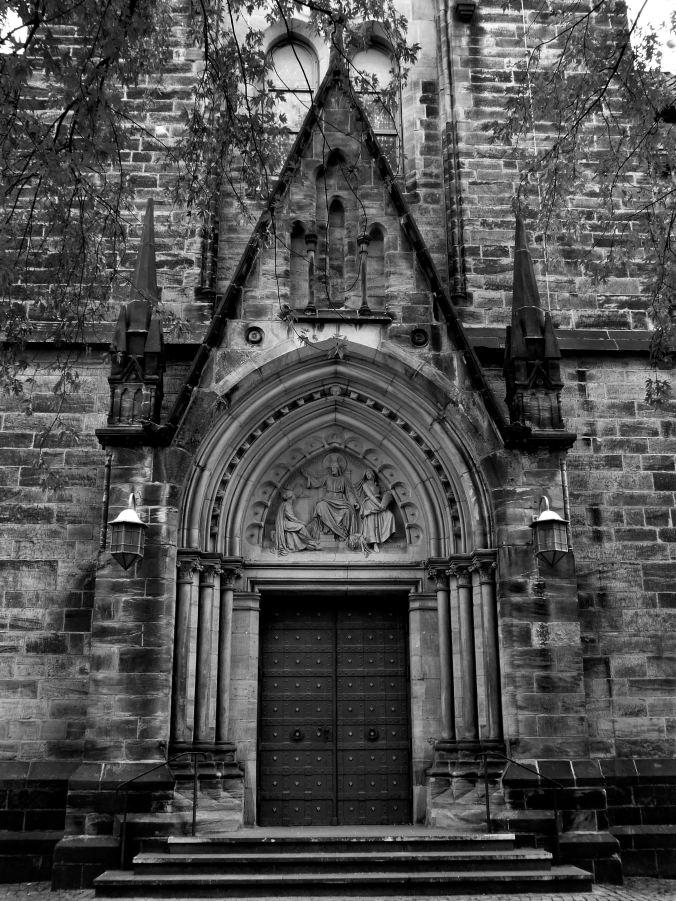 Historische Kirche im Luther-Fieber, 2002 renoviert