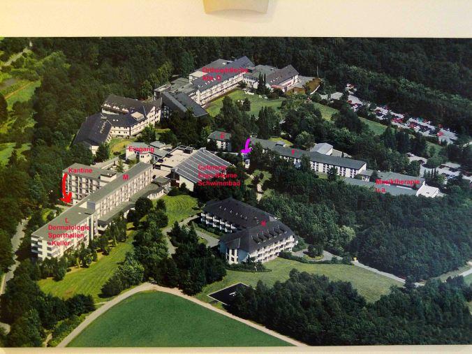Luftbild von der HELIOS-Klinik Rothaar