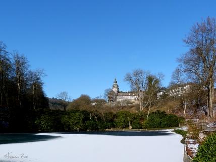 Schloss zu Wittgenstein mit Schlosspark