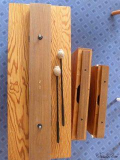 Perkussionsinstrument, welches warme Töne produziert
