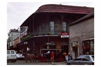 Bourbon Ecke Royal St.