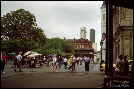 Platz des Pontalba Buildings am Jackson Squares