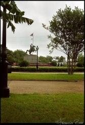 Jackson Square mit Reiterstandbild Andrew Jackson