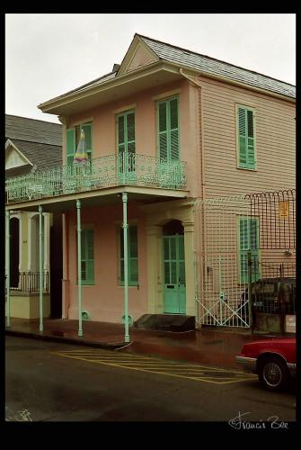 typisches Wohnhaus im French Quarter