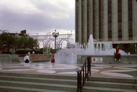 Kontrast zu French Quarter: der Plaza de Espana